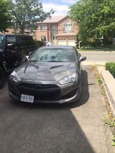 Genesis coupe 2013 low KM and Cheap!