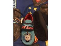 Thomas tank engine slippers kids 8