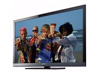 "(Perfect) Sony BRAVIA KDL-46EX713 46"" Full HD LCD Internet TV with LED Screen, HDMI, USB + Remote"