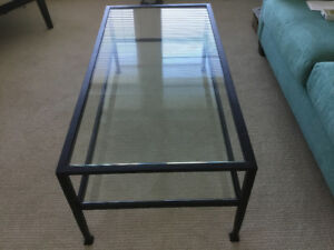 Pottery barn coffee table