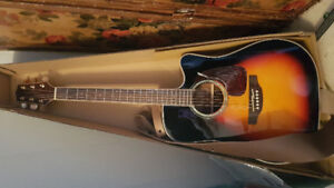 Takamine acoustic,electric guitar