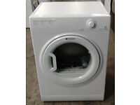 N616 white hotpoint 6kg vented dryer comes with warranty can be delivered or collected