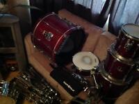 Vintage Yamaha Custom Advantage Drum Kit