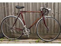 Vintage Peugeot road bike, Fully restoored, VGC/excellent. 10 speeds, 57cm frame. New wheel, chain