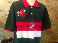 Ralph Lauren Polo PK shirt Men's XXL Large Green Brand new