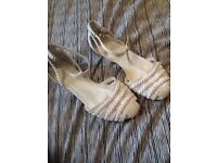Brand new size 4 sandals