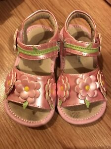 Wee squeak leather sandals