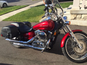2009 Honda Shadow - Low kms - excellent condition