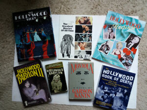 Collection of Books About Hollywood