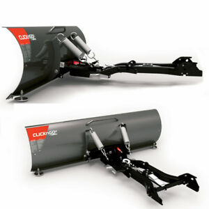 50 inch CLICKnGO2 ATV Snow Plow System - 100$ off (new in box)