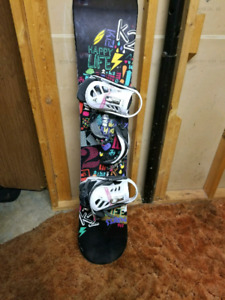 Selling K2 snowboard great condition