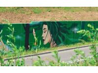 Artist ( Graffiti mural painting,Traditional painting, advert ,etc ..)