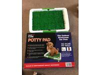 Puppy training grass pad