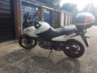 SUZUKI VStrom, looked after, full service, motorway miles, touring extras.