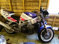 HONDA FIREBLADE STREETFIGHTER IN GOOD CONDITION