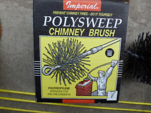 Chimney sweeper brush & extensions