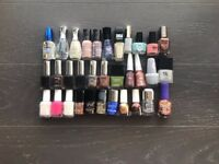 Selling My Nail Polish Collection - ESSIE, SALLY HANSEN, NAILS INC, CIATE.. Most of Them Never Used