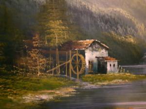 Original oil painting by: k.beronie