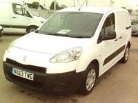 Peugeot Partner L1 850 1.6 HDI 92BHP VAN DIESEL MANUAL WHITE (2013)
