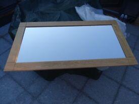 Light Oak Mirror