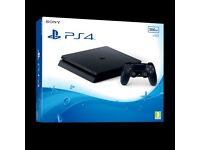 PS4 (PlayStation 4) console SLIM 500GB - Brand new and sealed