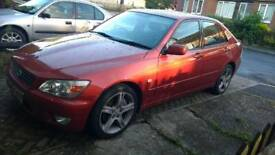 Lexus is200 2 litre rwd l6 6 speed
