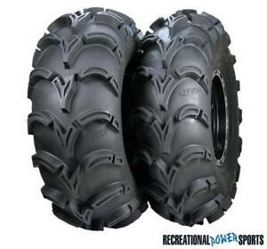 CLEARANCE // MUD LITE XL ATV TIRES ON ITP SS316 RIMS