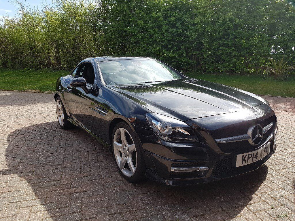 mercedes benz slk 250 amg sport cdi black 2014 in fareham hampshire gumtree. Black Bedroom Furniture Sets. Home Design Ideas
