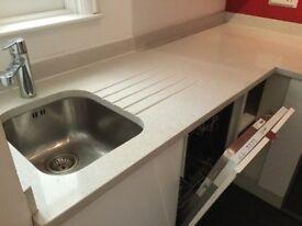 Ikea kitchen units & small dishwasher