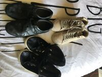3x pairs of shoes all size 4