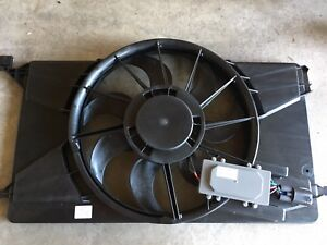 Ford Focus Engine Fan and shroud - New Ford OEM part