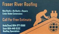 Roofing Services - Call Today For A Free Estimates!