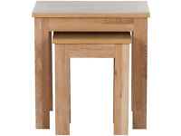 Schreiber Harbury Nest of Tables - Oak