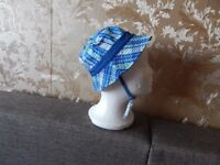 """Hat""""H&M""""Blue Mix Size: Eur 80 ,Age 9 - 12 Months New With Tags from Norway"""