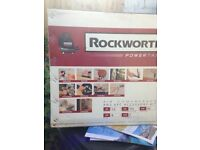 Rockworth air compressor and 6 pieces unused