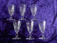 Vintage Liqueur Glasses