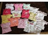 Bundle of baby girls (59 items) clothes aged 6/9 months old