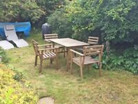 Ikea Askholmen Table and 4 chairs