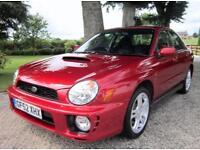 2002 Subaru Impreza 2.0 WRX Turbo 4dr - 1 OWNER! FULL SERVICE HISTORY!