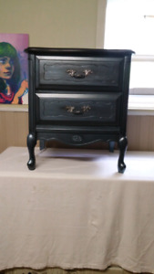 French provincial nightstand