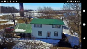 Farm house and barns for rent