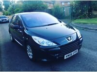 Peugeot 307 12month mot 1.4 engine 12month tax lady owner last 7years