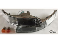 TOYOTA MR2 SW20 3SGTE TURBO NA CLEAR FRONT INDICATOR LIGHTS PAIR NEW REVISION 1 2 3 4 5 £29.99