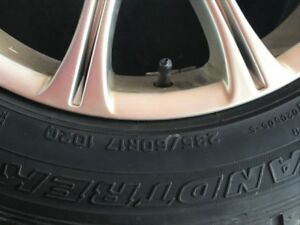 4 Alloy rims with winter tires from BMW X3