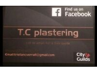 TC Plastering Services no job to big or small . Call on 07704021532 for a free quote