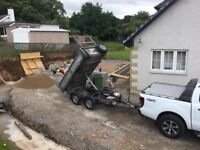 SAND AND GRAVEL DELIVERED 2 TON LOADS