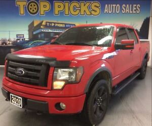 2010 Ford F-150 FX4, LEATHER, SUNROOF, 20 WHEELS!