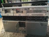 Getho Blaster (Boombox) Sharp GF666 1980 year