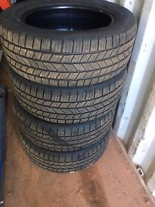 Set of Goodyear Eagle LS-2 tires