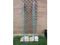 Garden Rakes 2 New and 2 Used (Two Used are Sold)